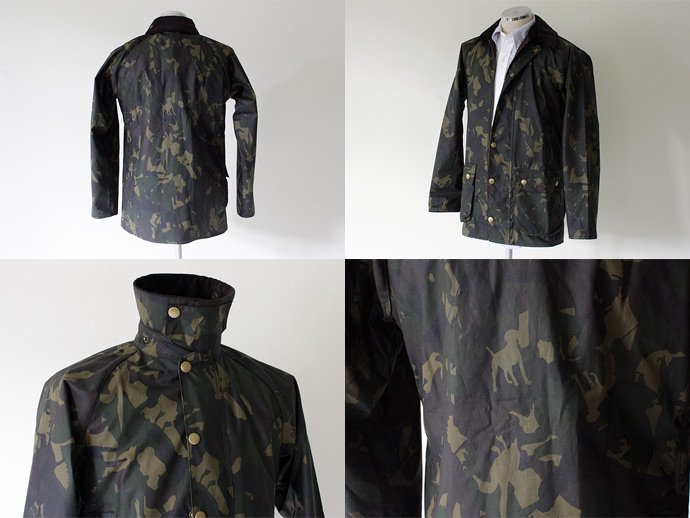 Barbour Bourne Camo Waxed Jacket<img class='new_mark_img2' src='//img.shop-pro.jp/img/new/icons47.gif' style='border:none;display:inline;margin:0px;padding:0px;width:auto;' /> 02