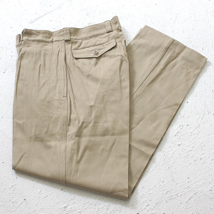 EHS Vintage Deadstock French Army Chino<img class='new_mark_img2' src='//img.shop-pro.jp/img/new/icons47.gif' style='border:none;display:inline;margin:0px;padding:0px;width:auto;' /> 01