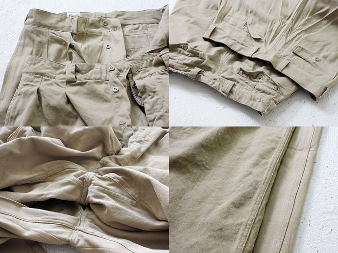 EHS Vintage Deadstock French Army Chino<img class='new_mark_img2' src='//img.shop-pro.jp/img/new/icons47.gif' style='border:none;display:inline;margin:0px;padding:0px;width:auto;' /> 02