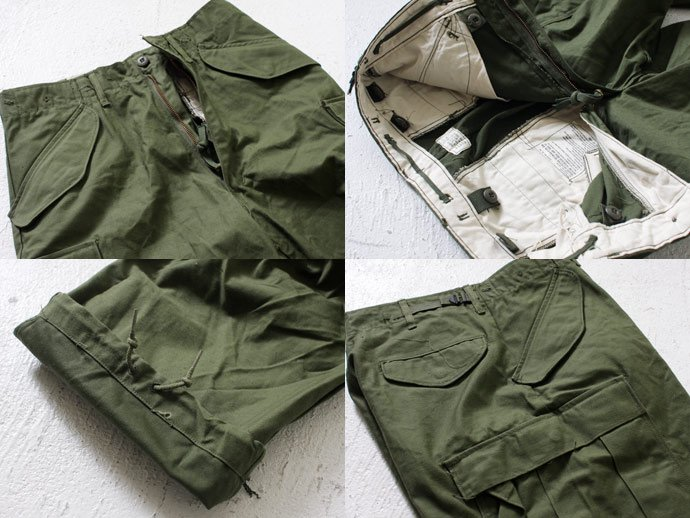 EHS Vintage U.S.ARMY デッドストック M-65 フィールドパンツ S/R<img class='new_mark_img2' src='//img.shop-pro.jp/img/new/icons47.gif' style='border:none;display:inline;margin:0px;padding:0px;width:auto;' /> 02