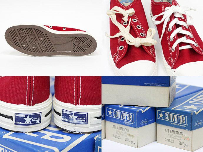 44093156 '70s Deadstock CONVERSE / All American - Red Canvas<img class='new_mark_img2' src='//img.shop-pro.jp/img/new/icons47.gif' style='border:none;display:inline;margin:0px;padding:0px;width:auto;' /> 02