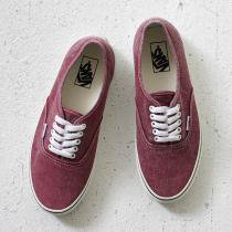 VANS Washed Authentic - Rio Red
