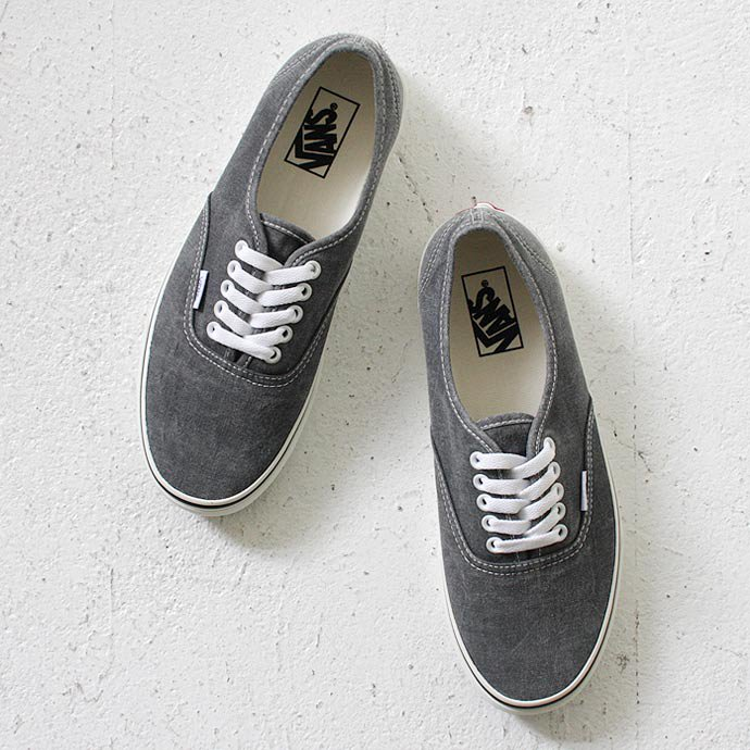 VANS Washed Authentic - Black<img class='new_mark_img2' src='//img.shop-pro.jp/img/new/icons47.gif' style='border:none;display:inline;margin:0px;padding:0px;width:auto;' /> 01