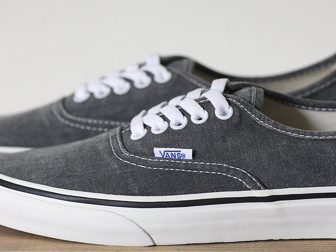 VANS Washed Authentic - Black<img class='new_mark_img2' src='//img.shop-pro.jp/img/new/icons47.gif' style='border:none;display:inline;margin:0px;padding:0px;width:auto;' /> 02