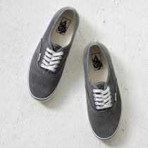 VANS / Washed Authentic - Black