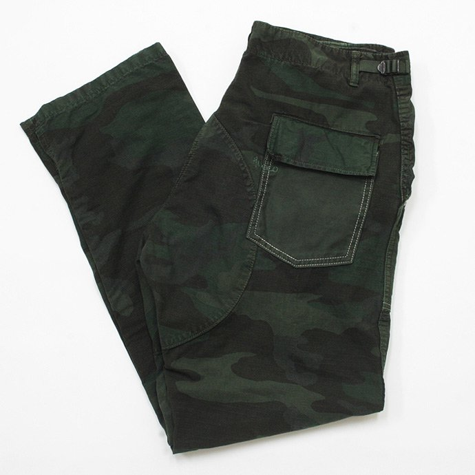 45312228 Hexico / Deformer Pants - Tapered, Baker Type  Ex. US Camoufage 6P Over Dye Wash<img class='new_mark_img2' src='//img.shop-pro.jp/img/new/icons47.gif' style='border:none;display:inline;margin:0px;padding:0px;width:auto;' /> 01