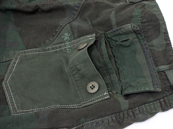 Hexico Deformer Pants - Tapered, Baker Type  Ex. US Camoufage 6P Over Dye Wash<img class='new_mark_img2' src='//img.shop-pro.jp/img/new/icons47.gif' style='border:none;display:inline;margin:0px;padding:0px;width:auto;' /> 02