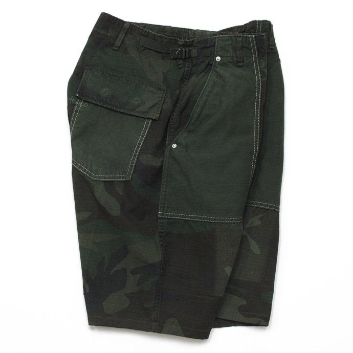 45312408 Hexico / Deformer Pants - Baker Type Shorts  Ex. US Camoufage 6P Over Dye Wash<img class='new_mark_img2' src='//img.shop-pro.jp/img/new/icons47.gif' style='border:none;display:inline;margin:0px;padding:0px;width:auto;' /> 01