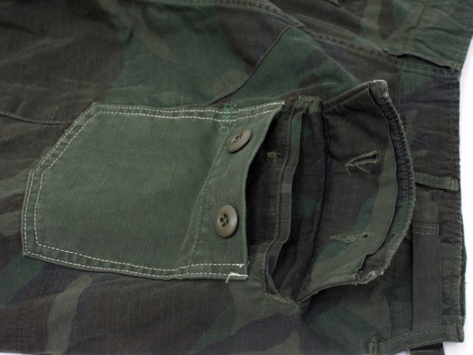 45312408 Hexico / Deformer Pants - Baker Type Shorts  Ex. US Camoufage 6P Over Dye Wash<img class='new_mark_img2' src='//img.shop-pro.jp/img/new/icons47.gif' style='border:none;display:inline;margin:0px;padding:0px;width:auto;' /> 02