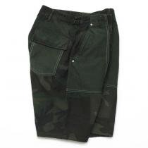 Hexico Deformer Pants - Baker Type Shorts  Ex. US Camoufage 6P Over Dye Wash