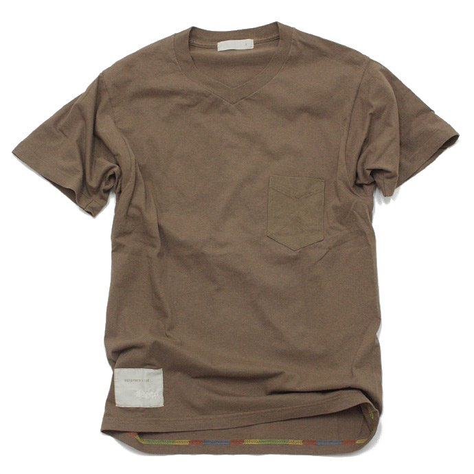 Hexico Deformer T Shirts - V Poket  Ex. US ARMY Crew Neck<img class='new_mark_img2' src='//img.shop-pro.jp/img/new/icons47.gif' style='border:none;display:inline;margin:0px;padding:0px;width:auto;' /> 01