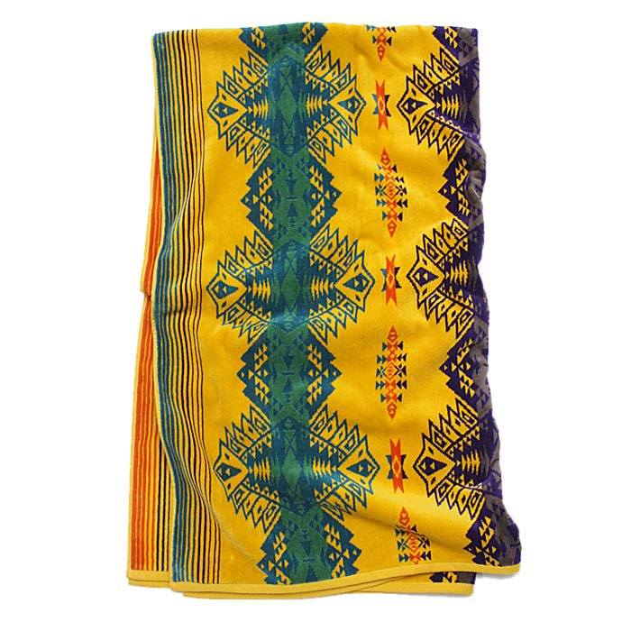 PENDLETON Oversized Jacquard Towel - Sun Dancer<img class='new_mark_img2' src='//img.shop-pro.jp/img/new/icons47.gif' style='border:none;display:inline;margin:0px;padding:0px;width:auto;' /> 01
