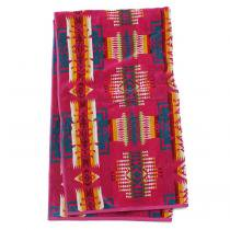 PENDLETON Oversized Jacquard Towel - Chief Joseph, Cherry