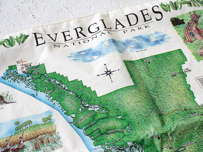 Other Brands The Printed Image / Nature Facts Bandanas - Everglades National Park ブリンテッドイメージ/ネイチャープリントバンダナ 02