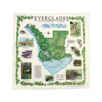 Other Brands The Printed Image / Nature Facts Bandanas - Everglades National Park ブリンテッドイメージ/ネイチャープリントバンダナ