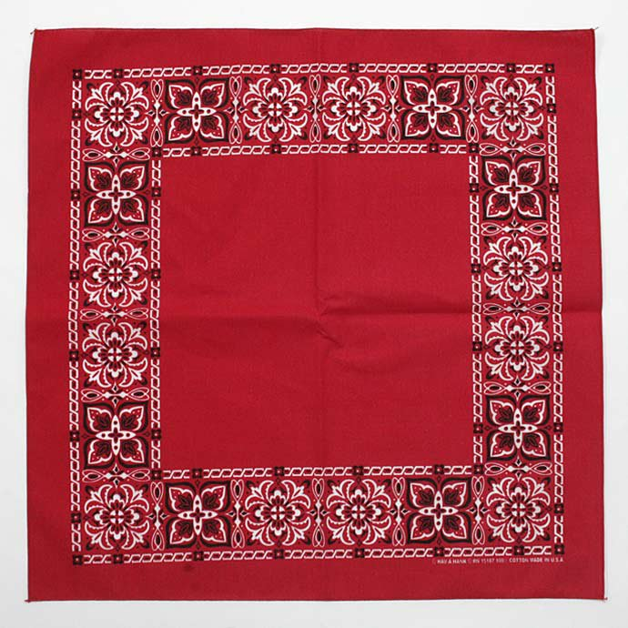 Other Brands HAV-A-HANK / Open Center Bandana - Red(ハバハンク オープンセンターバンダナ レッド)<img class='new_mark_img2' src='//img.shop-pro.jp/img/new/icons47.gif' style='border:none;display:inline;margin:0px;padding:0px;width:auto;' /> 01