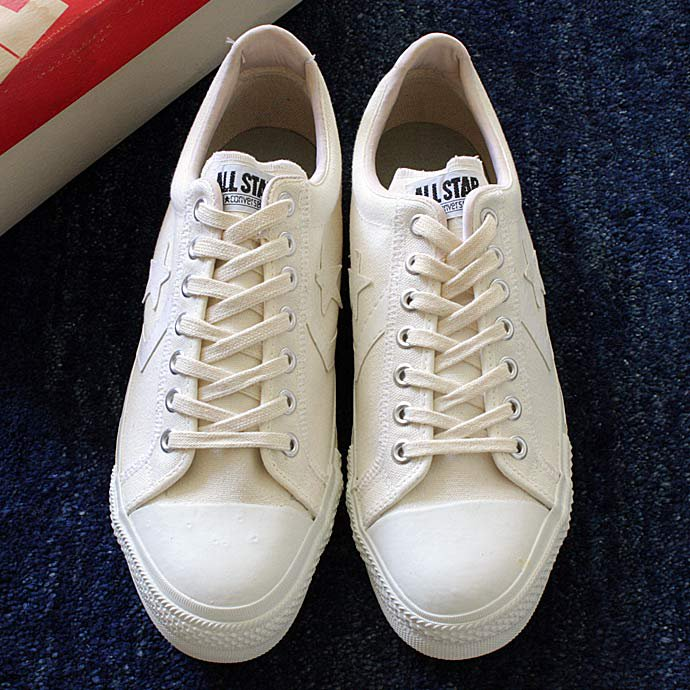 EHS Vintage '70s Deadstock CONVERSE / ALL STAR II - White/Natural<img class='new_mark_img2' src='//img.shop-pro.jp/img/new/icons47.gif' style='border:none;display:inline;margin:0px;padding:0px;width:auto;' /> 01