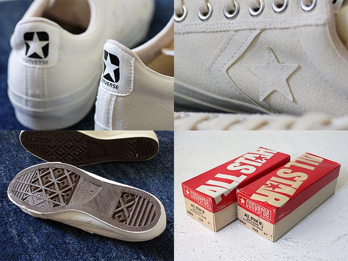 EHS Vintage '70s Deadstock CONVERSE / ALL STAR II - White/Natural<img class='new_mark_img2' src='//img.shop-pro.jp/img/new/icons47.gif' style='border:none;display:inline;margin:0px;padding:0px;width:auto;' /> 02