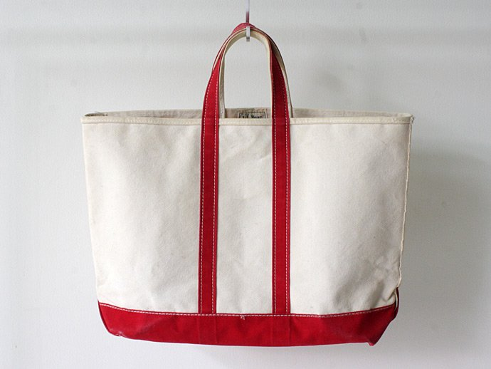 EHS Vintage '70s L.L.Bean Boat and Tote Bag - Red<img class='new_mark_img2' src='//img.shop-pro.jp/img/new/icons47.gif' style='border:none;display:inline;margin:0px;padding:0px;width:auto;' /> 02