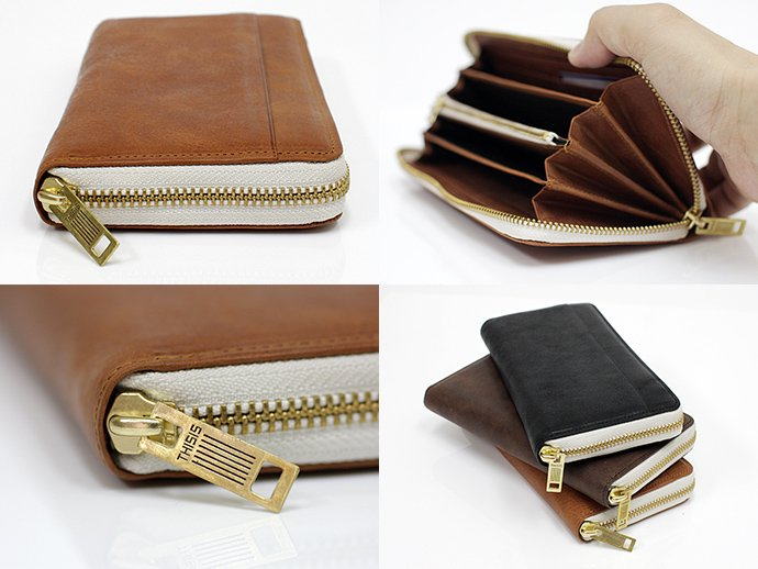 This is... Round Fastener Wallet - Brown Bridle Leather<img class='new_mark_img2' src='//img.shop-pro.jp/img/new/icons47.gif' style='border:none;display:inline;margin:0px;padding:0px;width:auto;' /> 02