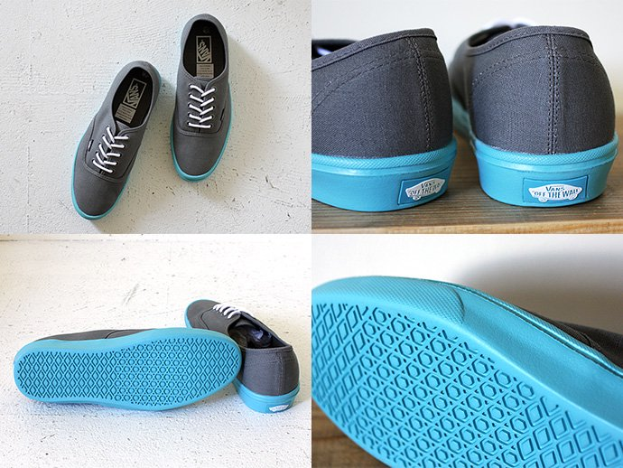 47411764 VANS / Authentic Lite - Pewter/Scuba Blue<img class='new_mark_img2' src='//img.shop-pro.jp/img/new/icons47.gif' style='border:none;display:inline;margin:0px;padding:0px;width:auto;' /> 02