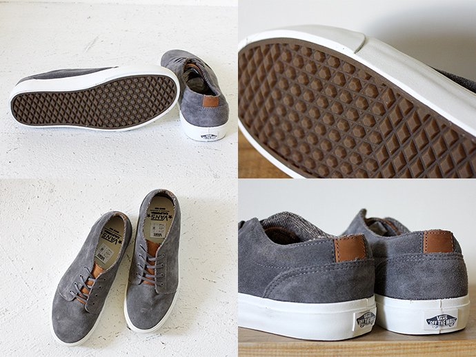 VANS 106 Vulcanized CA - Suede Charcoal Grey<img class='new_mark_img2' src='//img.shop-pro.jp/img/new/icons47.gif' style='border:none;display:inline;margin:0px;padding:0px;width:auto;' /> 02