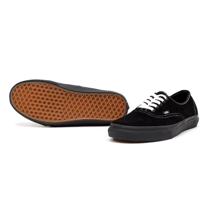 49005341 VANS / Authentic Suede - Black / White Stitch<img class='new_mark_img2' src='//img.shop-pro.jp/img/new/icons47.gif' style='border:none;display:inline;margin:0px;padding:0px;width:auto;' /> 01