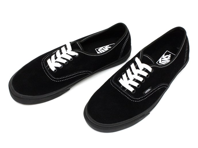 49005341 VANS / Authentic Suede - Black / White Stitch<img class='new_mark_img2' src='//img.shop-pro.jp/img/new/icons47.gif' style='border:none;display:inline;margin:0px;padding:0px;width:auto;' /> 02