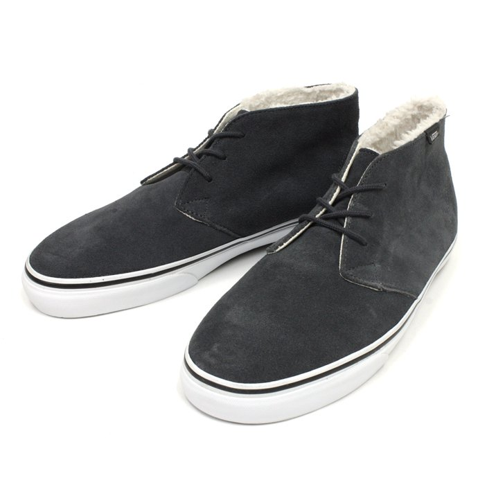 49009877 VANS / Chukka Decon Fleece Lining - Dark Shadow<img class='new_mark_img2' src='//img.shop-pro.jp/img/new/icons47.gif' style='border:none;display:inline;margin:0px;padding:0px;width:auto;' /> 01