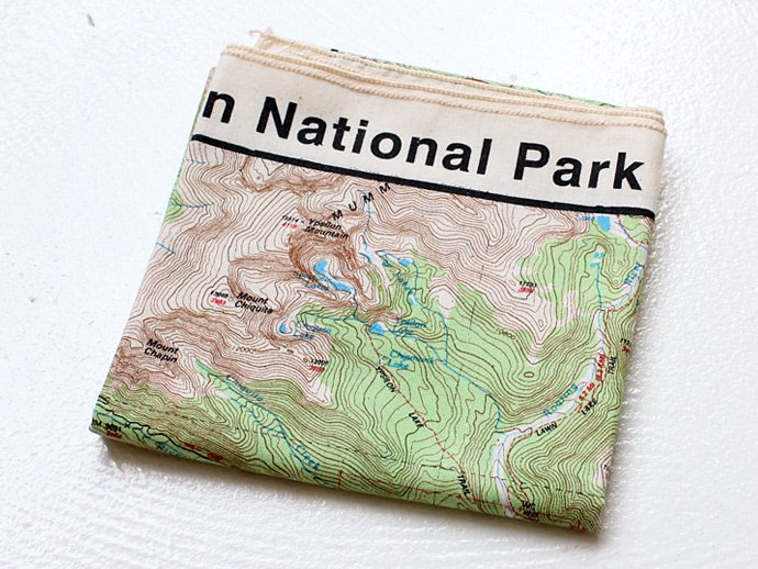 49314021 The Printed Image / Nature Facts Bandanas - Rocky Mountain National Park ブリンテッドイメージ/ネイチャープリントバンダナ 02