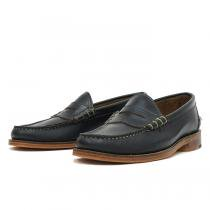 OAK STREET BOOTMAKERS Beefroll Penny Loafer ビーフロールペニーローファー - Navy