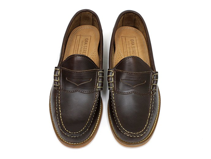 OAK STREET BOOTMAKERS Beefroll Penny Loafer - Brown<img class='new_mark_img2' src='//img.shop-pro.jp/img/new/icons47.gif' style='border:none;display:inline;margin:0px;padding:0px;width:auto;' /> 02