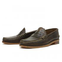 OAK STREET BOOTMAKERS Beefroll Penny Loafer - Natural