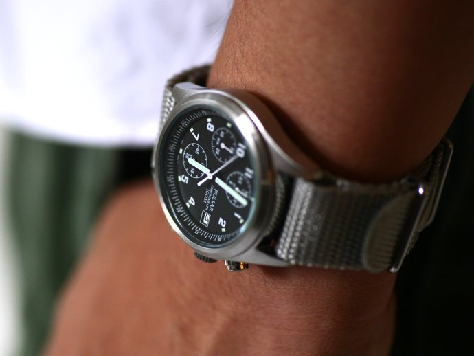 Other Brands PULSAR / Military Chronograph Watch<img class='new_mark_img2' src='//img.shop-pro.jp/img/new/icons47.gif' style='border:none;display:inline;margin:0px;padding:0px;width:auto;' /> 02