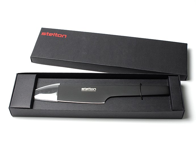 Other Brands STELTON / Pure Black Santoku Knife ステルトン ピュアブラック三徳包丁<img class='new_mark_img2' src='//img.shop-pro.jp/img/new/icons47.gif' style='border:none;display:inline;margin:0px;padding:0px;width:auto;' /> 02