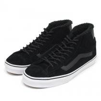 VANS / Mid Skool '77 Pig Suede/Fleece Lining - Black