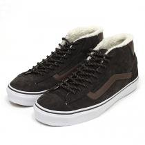 VANS Mid Skool '77 Pig Suede/Fleece Lining - Brown ミッドスクール'77 スウェード ボア ブラウン<img class='new_mark_img2' src='//img.shop-pro.jp/img/new/icons47.gif' style='border:none;display:inline;margin:0px;padding:0px;width:auto;' />