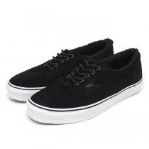 VANS Era Pig Suede/Fleece Lining - Black
