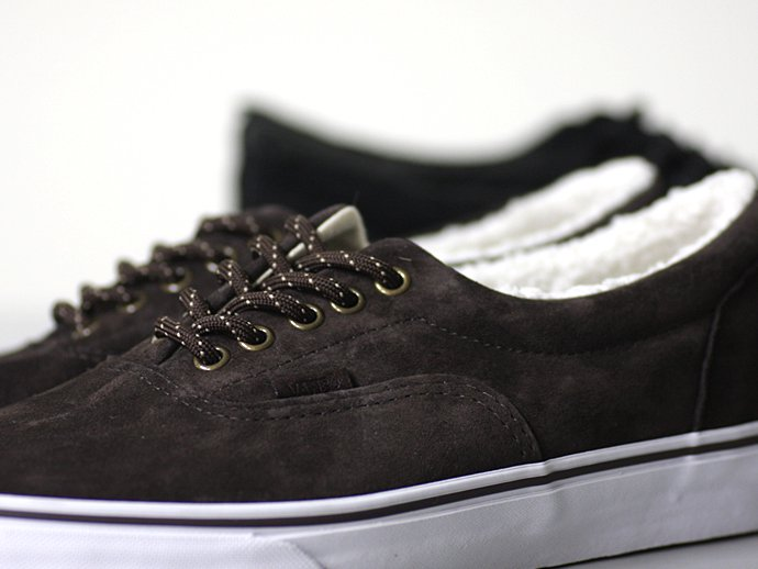 VANS Era Pig Suede/Fleece Lining - Brown<img class='new_mark_img2' src='//img.shop-pro.jp/img/new/icons47.gif' style='border:none;display:inline;margin:0px;padding:0px;width:auto;' /> 02