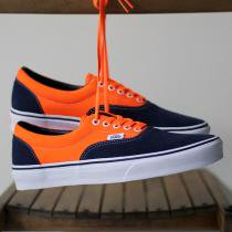 VANS / Era Neon - Orange/Dress Blues