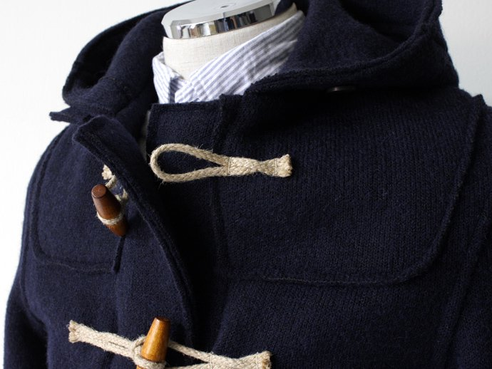 Other Brands Gloverall / Knitted Duffle Coat 3338KN Navy<img class='new_mark_img2' src='//img.shop-pro.jp/img/new/icons47.gif' style='border:none;display:inline;margin:0px;padding:0px;width:auto;' /> 02