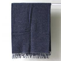 BARKER TEXTILES / ウールブランケット ネイビー<img class='new_mark_img2' src='//img.shop-pro.jp/img/new/icons47.gif' style='border:none;display:inline;margin:0px;padding:0px;width:auto;' />
