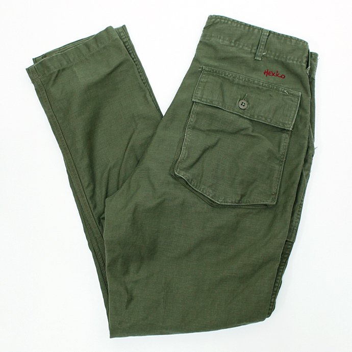 53956052 Hexico / Deformer Pants - Gored Pocket Tapered Ex. U.S. Used Baker<img class='new_mark_img2' src='//img.shop-pro.jp/img/new/icons47.gif' style='border:none;display:inline;margin:0px;padding:0px;width:auto;' /> 01