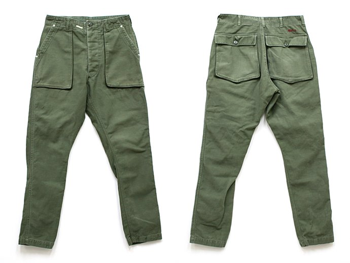 Hexico Deformer Pants - Gored Pocket Tapered Ex. U.S. Used Baker<img class='new_mark_img2' src='//img.shop-pro.jp/img/new/icons47.gif' style='border:none;display:inline;margin:0px;padding:0px;width:auto;' /> 02