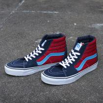 VANS Suede/Canvas Sk8-Hi - Dress Blues/Chilli Pepper
