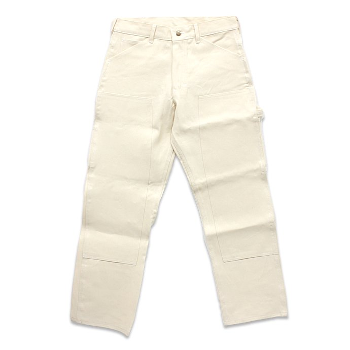 Other Brands Round House / 9.5oz. Natural Drill Double Front Painter Pant ラウンドハウス ナチュラルドリル ダブルニーペインターパンツ<img class='new_mark_img2' src='//img.shop-pro.jp/img/new/icons47.gif' style='border:none;display:inline;margin:0px;padding:0px;width:auto;' /> 01