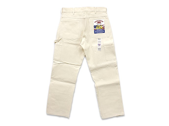 Other Brands Round House / 9.5oz. Natural Drill Double Front Painter Pant ラウンドハウス ナチュラルドリル ダブルニーペインターパンツ<img class='new_mark_img2' src='//img.shop-pro.jp/img/new/icons47.gif' style='border:none;display:inline;margin:0px;padding:0px;width:auto;' /> 02