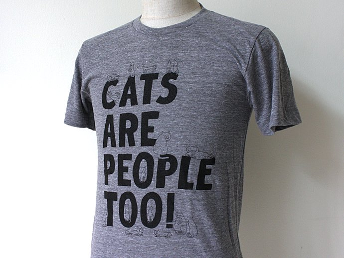Other Brands Will Bryant / Cats Are People Too! Tシャツ<img class='new_mark_img2' src='//img.shop-pro.jp/img/new/icons47.gif' style='border:none;display:inline;margin:0px;padding:0px;width:auto;' /> 02