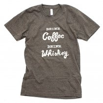 Other Brands Will Bryant / Drink Coffee, Drink Whiskey Tシャツ