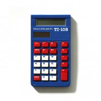 Texas Instruments / TI-108 8桁電卓<img class='new_mark_img2' src='//img.shop-pro.jp/img/new/icons47.gif' style='border:none;display:inline;margin:0px;padding:0px;width:auto;' />